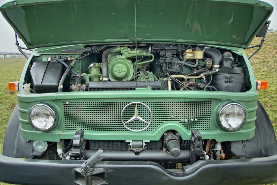 1974 Mercedes-Benz Unimog 406A Kippwagen 4x4   Chassis no. 406.120-10-022907 Engine no. 3530100343