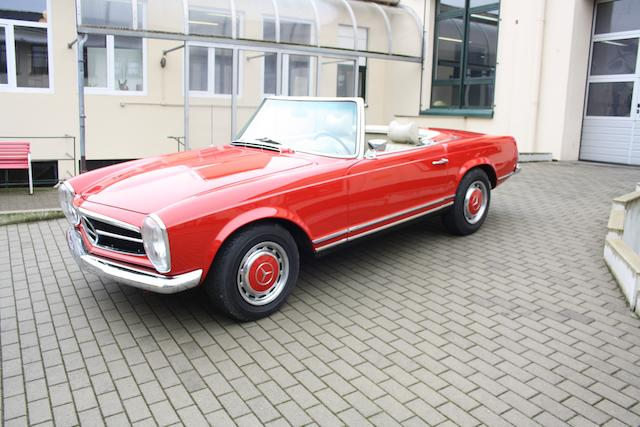 1970 Mercedes-Benz 280 SL Roadster with Hardtop  Chassis no. 113.044-10-012447 Engine no. 130.983-10-004874