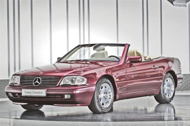 1997 Mercedes-Benz SL 320 Convertible with hardtop  Chassis no. WDB 129 063 1F 515409 Engine no. 104 991 12 027003