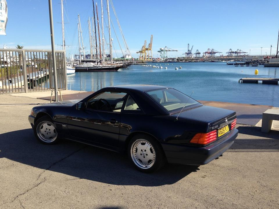 1992 Mercedes-Benz 600 SL Sports Roadster with hardtop  Chassis no. WDB1290761F069131 Engine no. 12098112000309