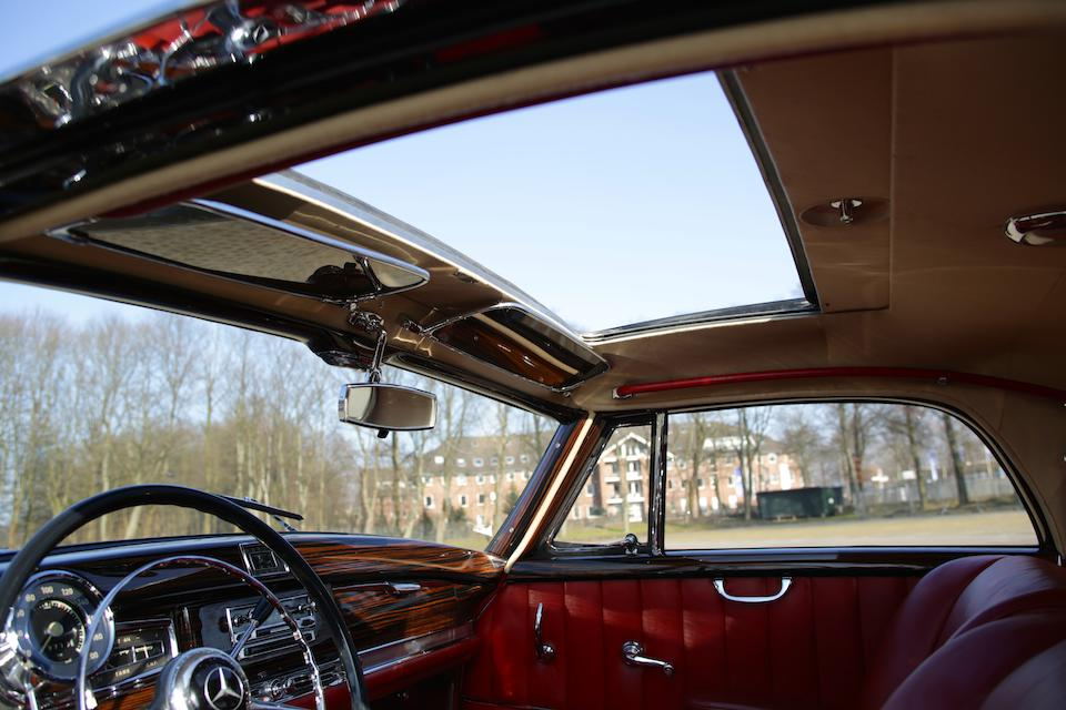 1957 Mercedes-Benz 300 Sc Coupé with sliding steel sunroof  Chassis no. 188.014-7500020  Engine no. 199.980-6500131
