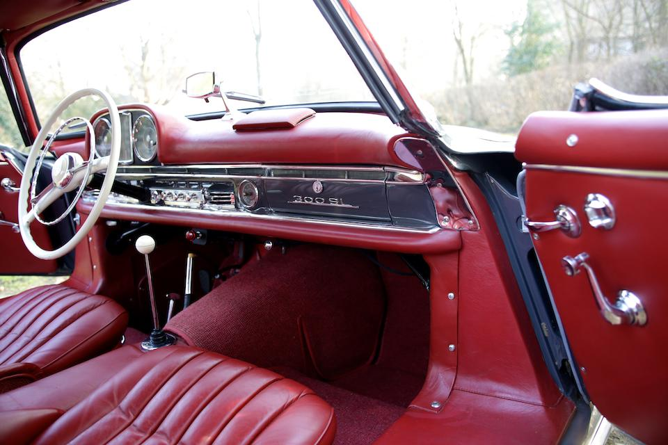 Matching Numbers,1957  Mercedes-Benz  300 SL Roadster with Hardtop  Chassis no. 198.042-7500203 Engine no. 198.980-7500231
