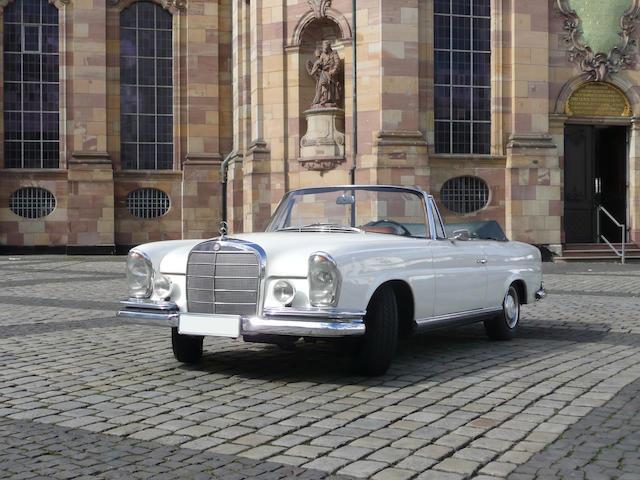1967  Mercedes-Benz  250 SE Cabriolet  Chassis no. 111 023-12-088311 Engine no. 129 980-12-017798