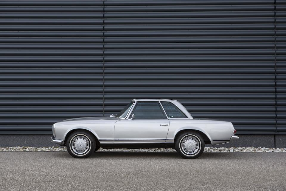 1969 Mercedes-Benz 280 SL Roadster with hardtop  Chassis no. 113.044-12-007543
