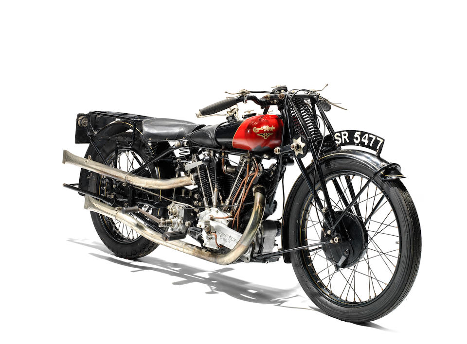 Property of a deceased's estate,1926 Coventry Eagle 980cc Flying Eight Frame no. 37577 Engine no. KTOR/T49039 (see text)