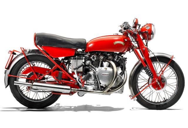 Property of a deceased's estate,1955 Vincent 998cc Rapide Series-D Frame no. RD12697 Engine no. F10AB/2/10797