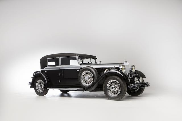 Originally the property of Erik Charell,1931 Mercedes-Benz 770 Cabriolet D (W 07)  Chassis no. 85205/R.B07/4 Engine no. 85205