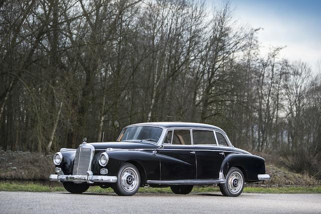 1959 Mercedes-Benz 300 'Adenauer' Saloon  Chassis no. 189.011-8501027 Engine no. 189.980.8500825