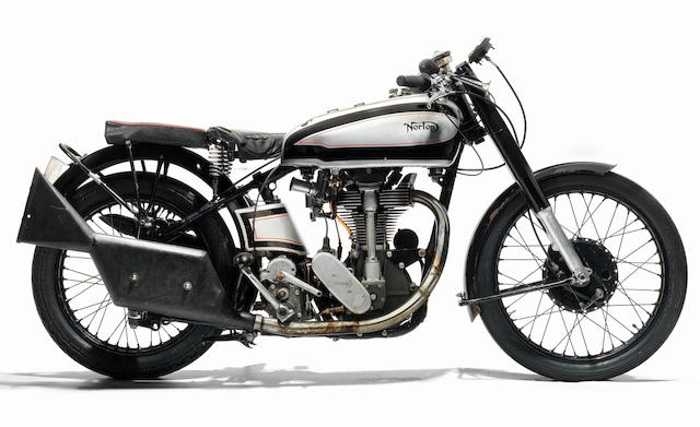 Property of a deceased's estate,c.1946 Norton 490cc Manx Racing Motorcycle Frame no. 15876 (see text) Engine no. E11M 31772