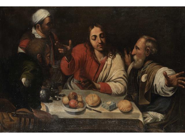 After Michelangelo Merisi da Caravaggio, 17th Century The Supper at Emmaus