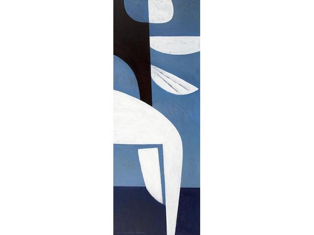 Yiannis Moralis (Greek, 1916-2009) Zephyros 160 x 60 cm.