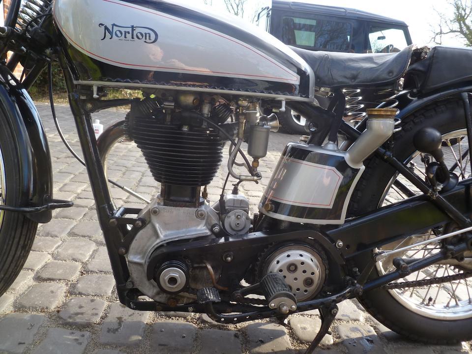 1932 Norton 490cc International Model 30 Frame no. 48879 Engine no. 54851