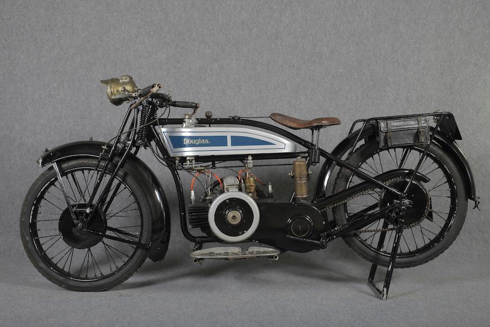 1926 Douglas 348cc EW Frame no. MF6908 Engine no. YE6963