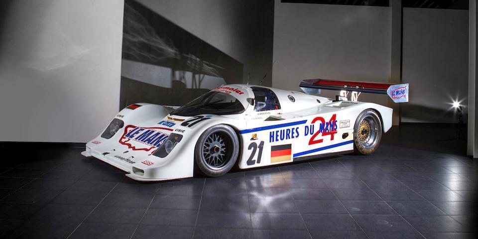 7ème au classement général et première Porsche au 24h du Mans 1993, livrée par l'usine, un seul propriétaire,1990 Porsche 962 C  Chassis no. 962-155