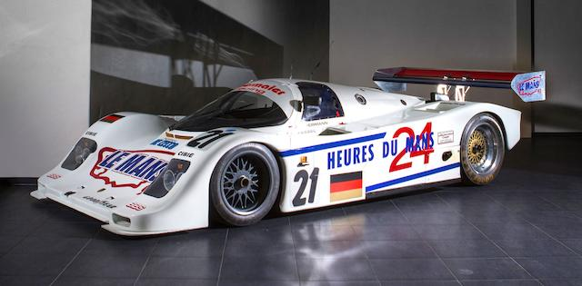 The Ex-Jürgen Oppermann/Otto Altenbach/Loris Kessel Obermaier Racing – first Porsche home at Le Mans,1990-93 Porsche Type 962 C Endurance Racing Competition Coupe  Chassis no. '962-155'