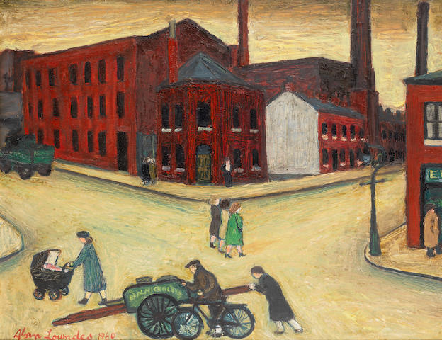 Alan Lowndes (British, 1921-1978) Great Portwood Street