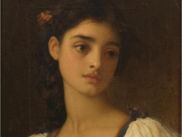 Frederic, Lord Leighton, PRA (British, 1830-1896) Nicandra