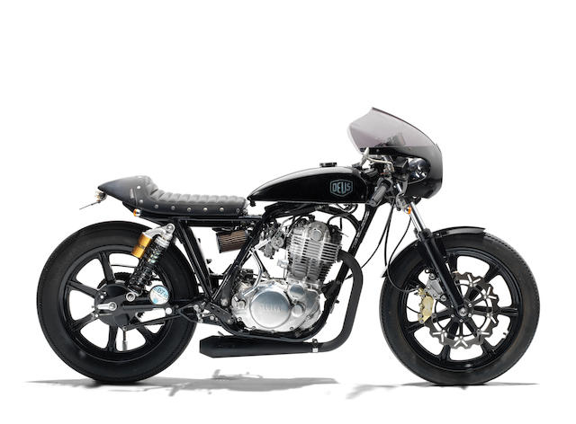 The property of James May,2010 Yamaha SR400 'Grievous Angel' by Deus Ex Machina Frame no. 7AT0J42TX09010404 Engine no. H313E010407
