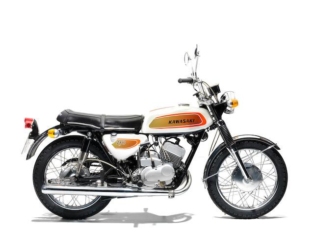 1971 Kawasaki 250cc A1 Samurai Frame no. A1 20373 Engine no. A1E 24870