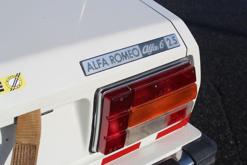 1979 Alfa Romeo Sei safety Car  Chassis no. ZAR 119 A 0000001340