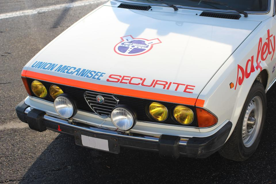 1979 Alfa Romeo Sei safety Car  Chassis no. ZAR 119 A 0000001340