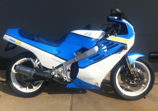 1986 Suzuki GSX-R400 Frame no. GK71F108214 Engine no. K706-114394