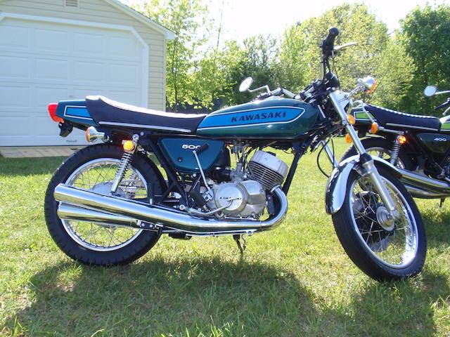 1975 Kawasaki 498cc KH500 Frame no. H1F35774 Engine no. KAE 105780