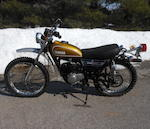 1974 Yamaha DT100 Frame no. 437-008851 Engine no. 437-008851