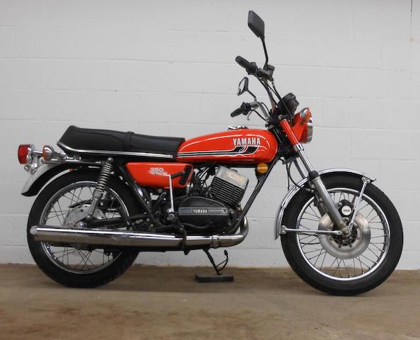 1975 Yamaha RD350 Frame no. 351-316724 Engine no. 351-316724