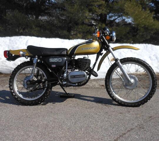 1974 Kawasaki 247cc F11 Frame no. F11-26006 Engine no. F11-E26022