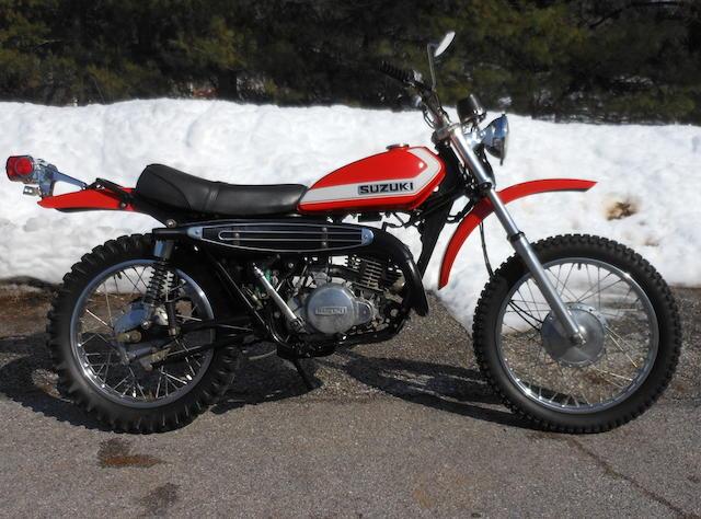 1972 Suzuki TS250J Frame no. TS2503-28875 Engine no. TS2503-28934