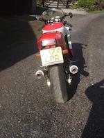 1989 Ducati 851 Strada 'Tricolore' Frame no. 850056 Engine no. 850536