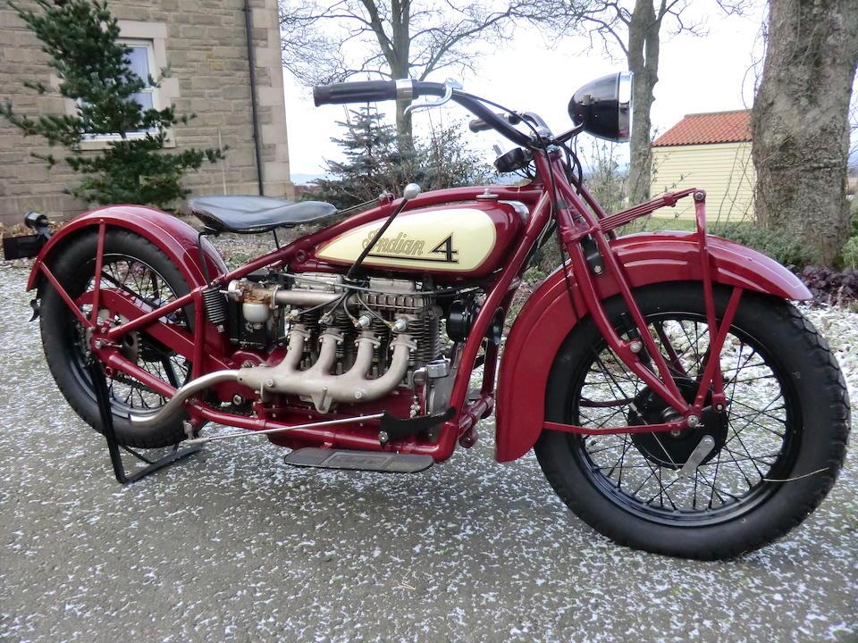 1928 Indian Type 401 Four Engine no. DA481
