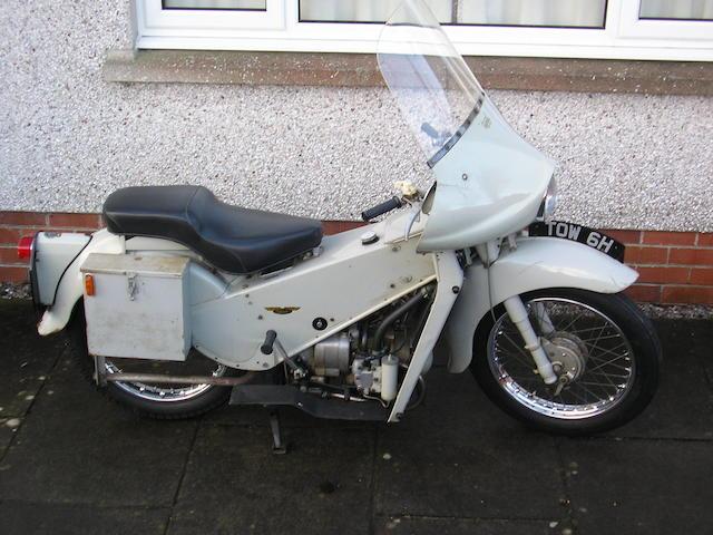 1970 Velocette 200cc LE Frame no. 894934 Engine no. 89493