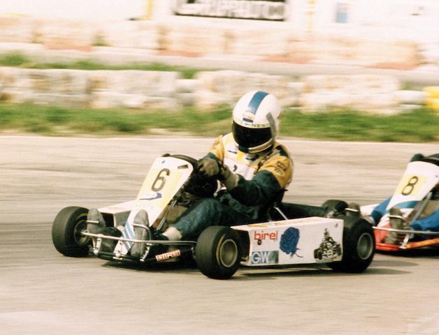 Ex-Mika Häkkinen, Finnish Championship-winning,1986 Birel T17 135cc Kart  Chassis no. 0125