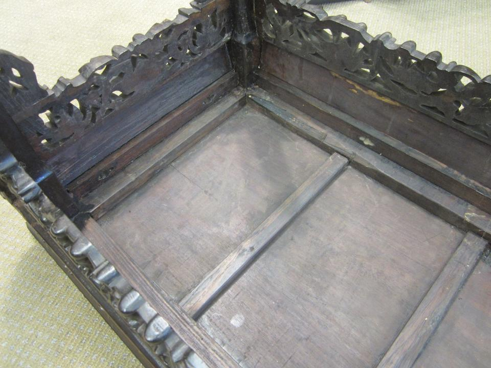 A huanghuali side table Qing