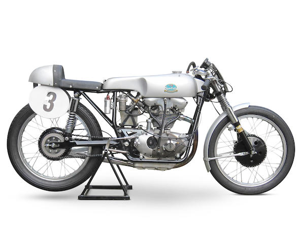 c.1957 F.B. Mondial 175cc Bialbero Racing Motorcycle Engine no. 206