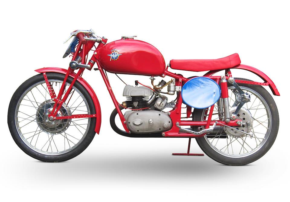 1950 MV Agusta 125cc 'Quattro Marce' Racing Motorcycle Frame no. SS205 Engine no. SS205