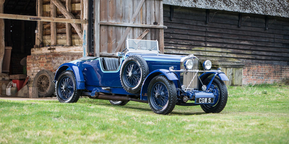 1934 Talbot AV105 'Alpine Replica' Tourer  Chassis no. 35448 Engine no. AV328