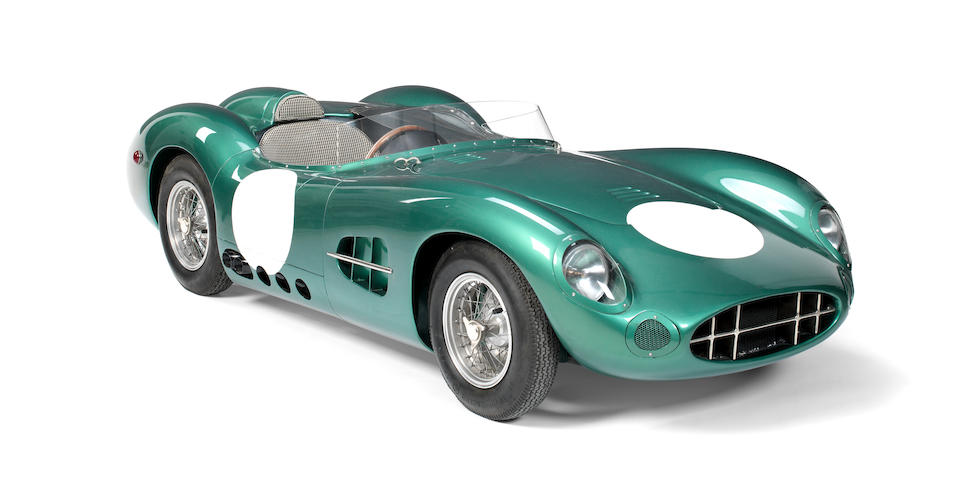 A PUR SANG-ROSE DBR1 HALF-SCALE CHILD'S CAR, CHASSIS NO. 006,