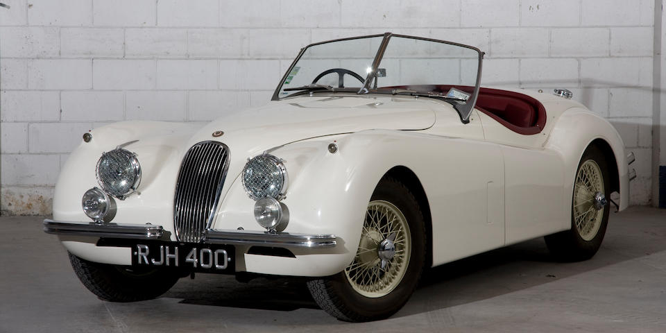 'RJH 400' - The ex-Haddon/Vivian, Alpine Rally Class-winning,1954 Jaguar XK120 Roadster