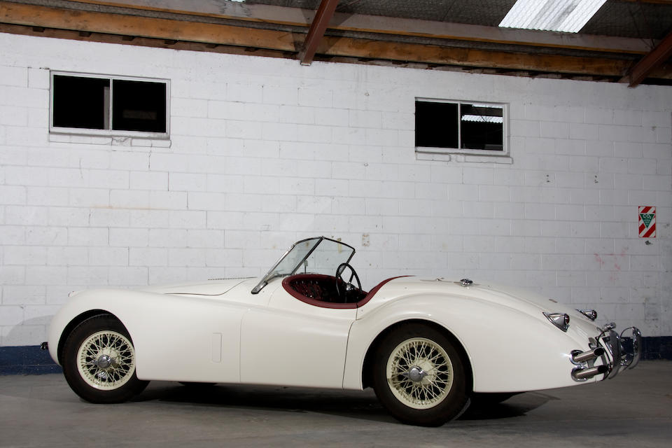 The ex-Haddon/Vivian, Alpine Rally class-winning,1954 Jaguar XK120 Competition Roadster  Chassis no. S661165 Engine no. F2111-8S