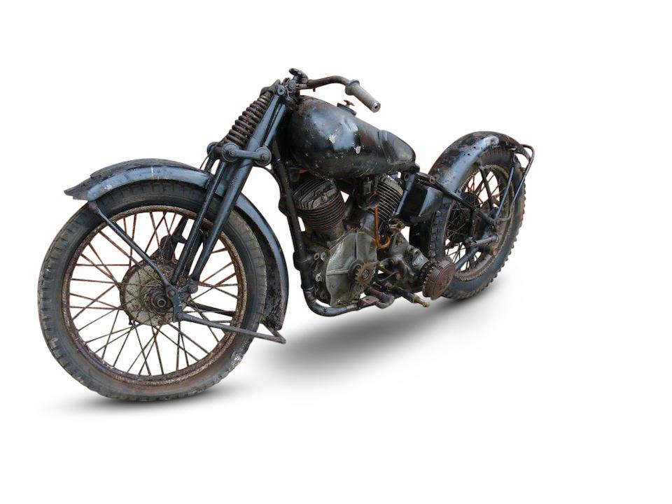 1933 Brough Superior 1,096cc 11-50hp Project Frame no. 1296 Engine no. 33540 SD