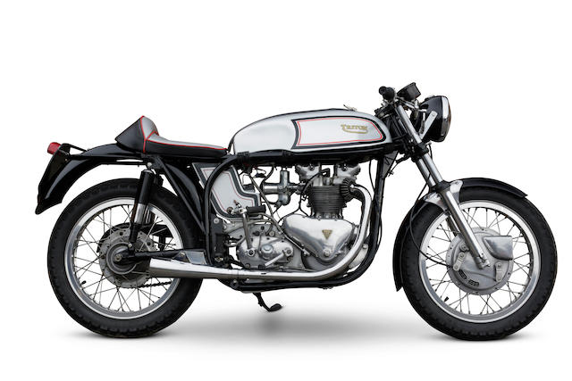 The property of Richard Hammond,1970 Triton 500cc 'Café Racer' Frame no. L122 67663 Engine no. T100 52804