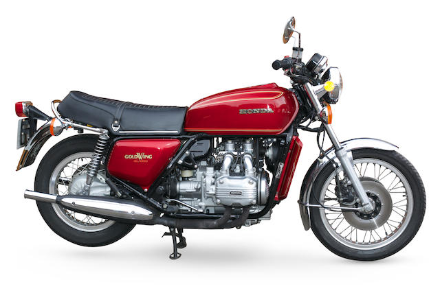 The property of Richard Hammond,1977 Honda GL1000 Gold Wing Frame no. GL1-2039480 Engine no. GL1E-2037979