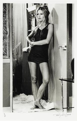 Brigitte Bardot: Terry O'Neill (British, b. 1938) gelatin silver print, St. Tropez 1967,