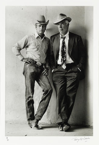 Paul Newman & Lee Marvin: Terry O'Neill (British, b. 1938) gelatin silver print, Arizona 1972,