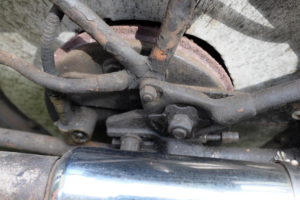 1930 Brough Superior OHV 680 Black Alpine Frame no. H1032 Engine no. GTOY/W 7659/S