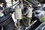 1930 Brough Superior OHV 680 Black Alpine Frame no. H1032 Engine no. GTOY/W 7659/S
