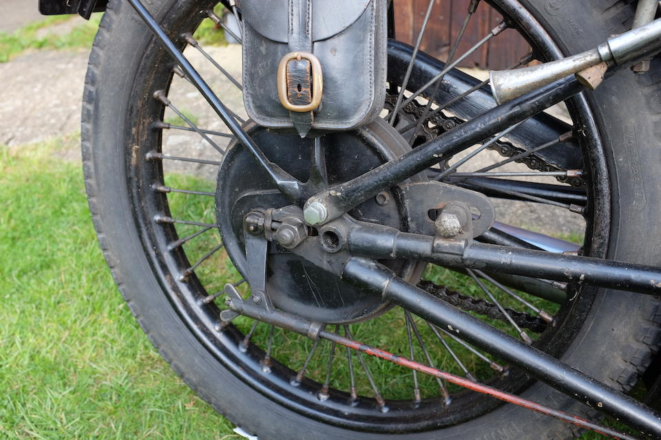 1930 Scott 596cc Sprint Special Frame no. 20 Engine no. DPZ 4106